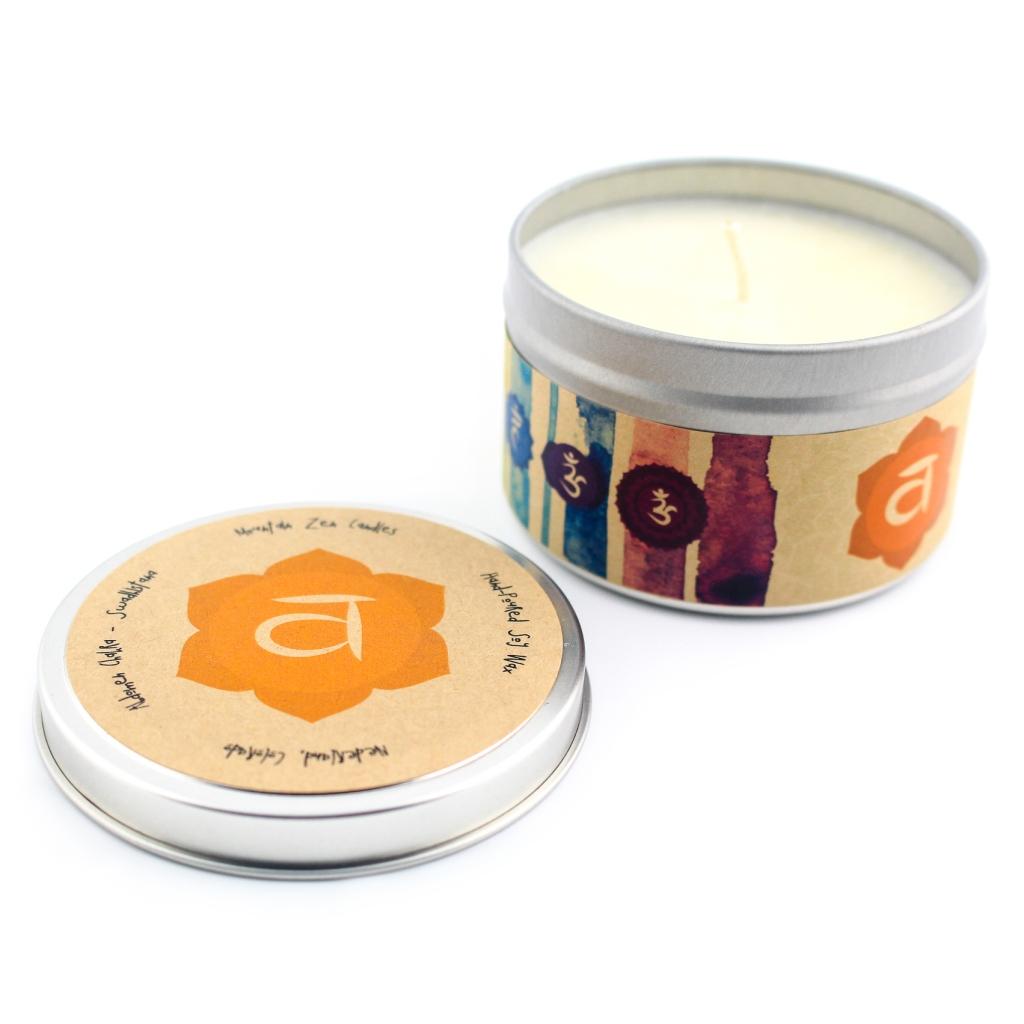 Abdomen Chakra Candle